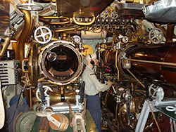 Drum Forward Torpedo Room